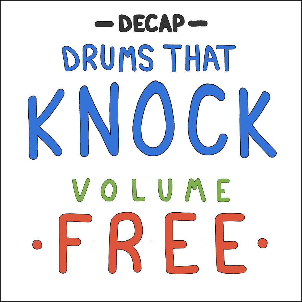 Drums That Knock Vol. Free Cover
