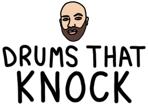 DRUMS THAT KNOCK LOGO